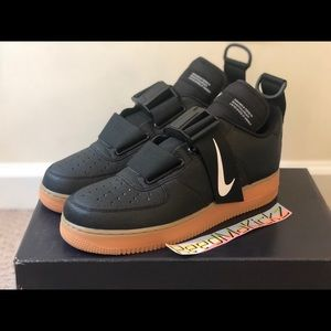 Nike air force 1 Utility Black Gum Mens